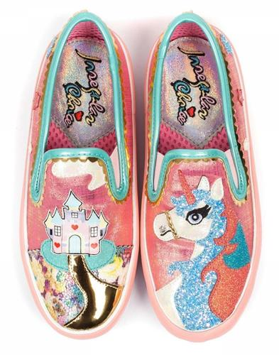 Misty Castle IRREGULAR CHOICE 80s Unicorn Pumps P