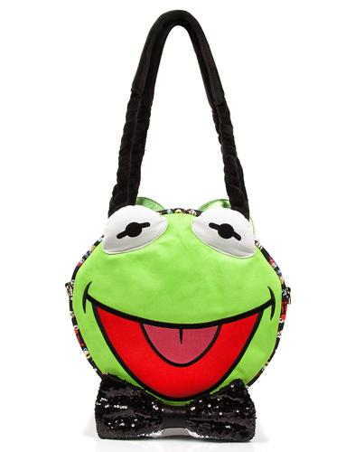 Hip Hop Happy IRREGULAR CHOICE MUPPETS Kermit Bag