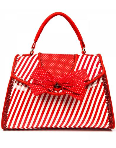 Peggy IRREGULAR CHOICE Retro Box Hangbag in Red
