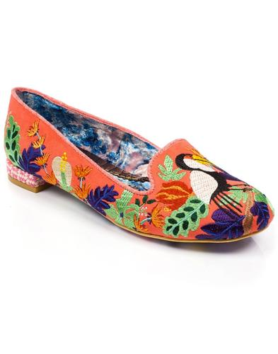 Yes You Peli Can IRREGULAR CHOICE Tropical Flats O
