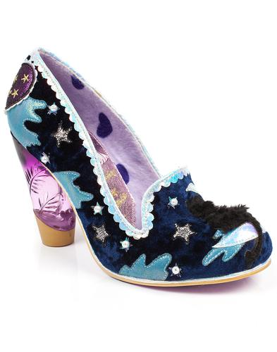 Irregular Choice Stars Starry Night Cat Moon Shoes