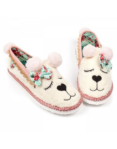Irregular Choice Sleepy Ted Teddy Bear Slippers