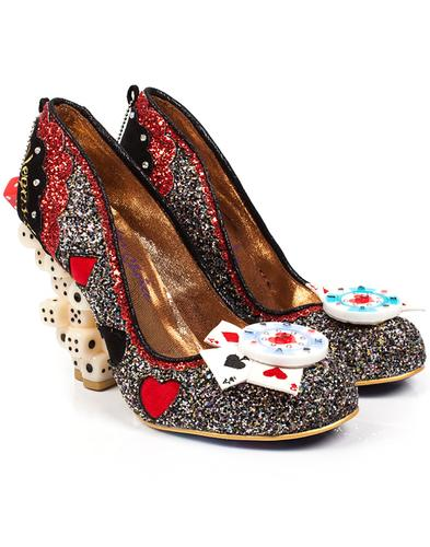 Las Vegas IRREGULAR CHOICE Dice Heel Shoes