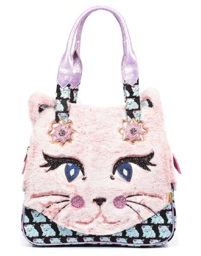 Cat Call IRREGULAR CHOICE Fluffy Shoulder Bag
