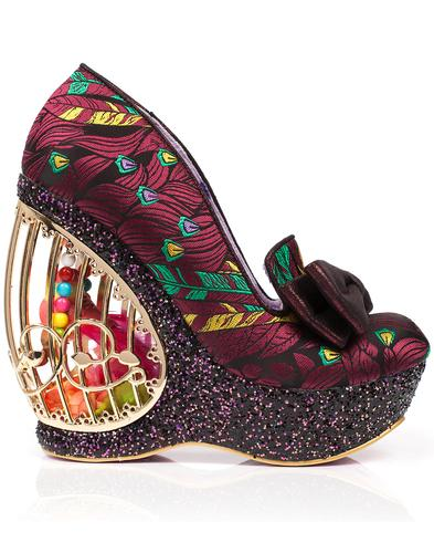 Ornate Agador IRREGULAR CHOICE Birdcage Shoes