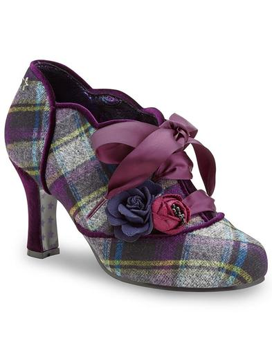 Joe Browns Couture Shoes Yazzabelle Tartan Shoes