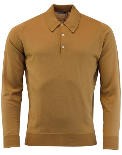 Dorset JOHN SMEDLEY Made in England Knitted Polo C