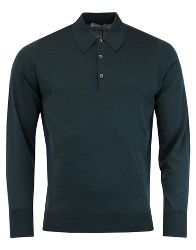 Dorset JOHN SMEDLEY Made in England Knitted Polo G