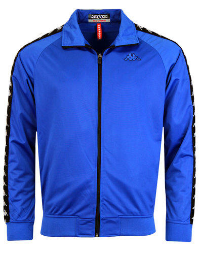 Anniston KAPPA Retro Funnel Neck Track Jacket BLUE
