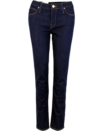 Elly LEE High Waist Slim Denim Jeans ONE WASH