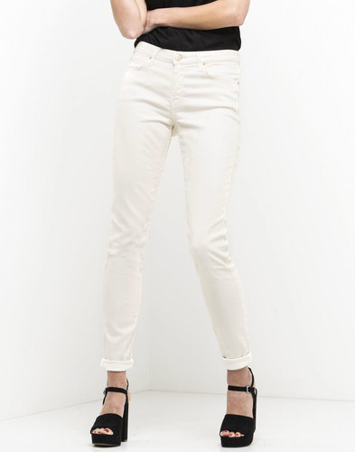 Jodee LEE Retro Super Skinny Denim Jeans ECRU