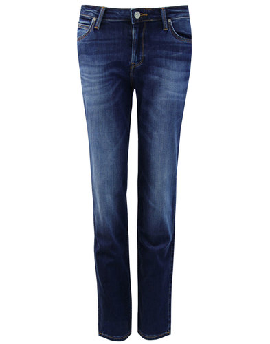 Marion LEE Retro 70s Classic Straight Denim Jeans