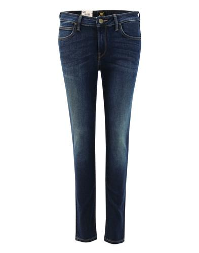 Scarlett LEE Retro Womens Mean Streak Skinny Jeans