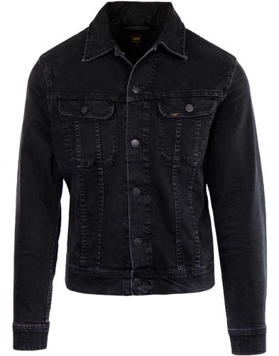 LEE Rider Retro Mod Slim Western Denim Jacket (DR)