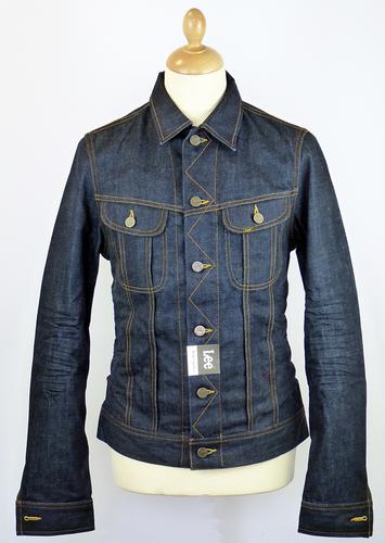 LEE Rider Retro 60s Dark Indigo Mod Denim Jacket