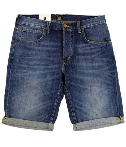 LEE JEANS Retro 1970s 5 Pocket Denim Shorts