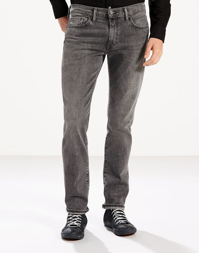 levis 511 retro slim denim jeans berry hill grey