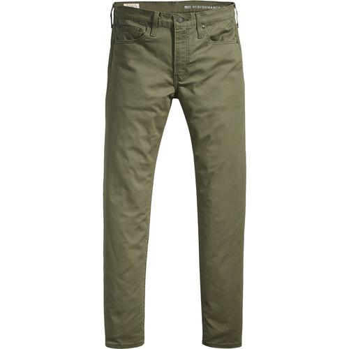 07099a6d Levi's 512 Men's Retro Mod Slim Taper Fit Chinos in Olive Night