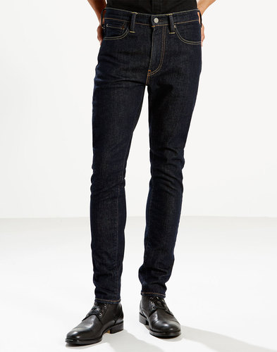 levis 519 mens retro mod extreme skinny jeans pipe