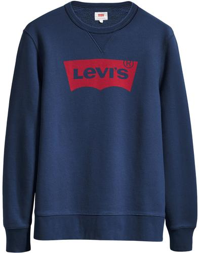 LEVI'S Retro Batwing Graphic Crew Sweatshirt (DB)