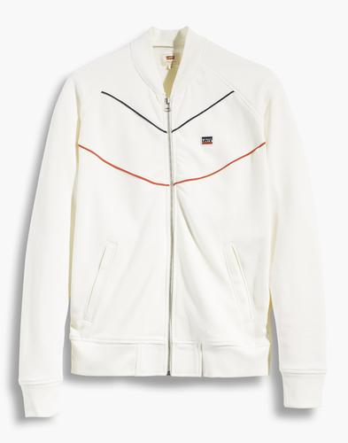 LEVI'S® Mens Retro 70s Mod Bomber Collar Track Top