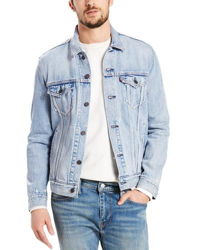 LEVI'S Retro Mod Denim Trucker Jacket STONEBRIDGE