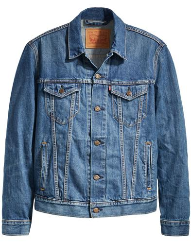 LEVI'S Retro Mod Denim Trucker Jacket (THE SHELF)