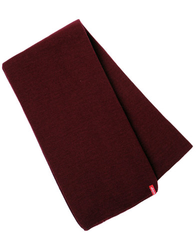 LEVI'S® Retro Indie Mod Knitted Square End Scarf