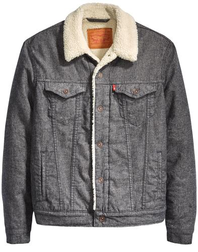 LEVI'S Type 3 Retro Brushed Sherpa Trucker Jacket