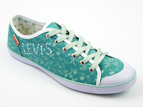Floral Canvas LEVI'S® Retro 70s Indie Sneakers