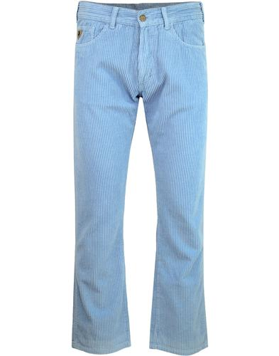 New Dallas LOIS 1980s Mod Jumbo Cord Trousers SB