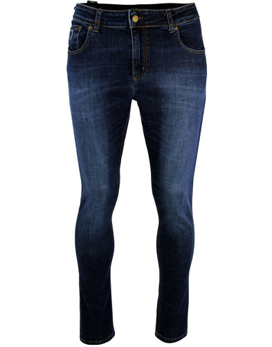 Sky LOIS Men's Mod Slim Fit Denim Jeans DARK STONE