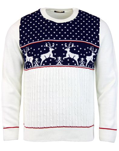 Looks like Reindeer Retro Indie Christmas Jumper N