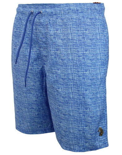 Cagy's LUKE 1977 Retro Knee Length Swim Shorts (S)