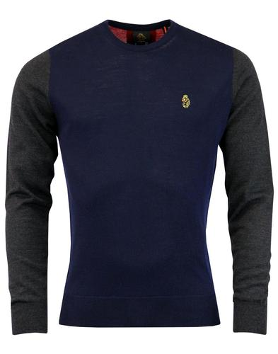 Jermain LUKE 1977 Retro Mod Colour Block Jumper DN