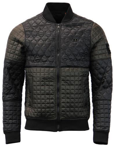 Rui Demental LUKE 1977 Retro Quilted Bomber Jacket