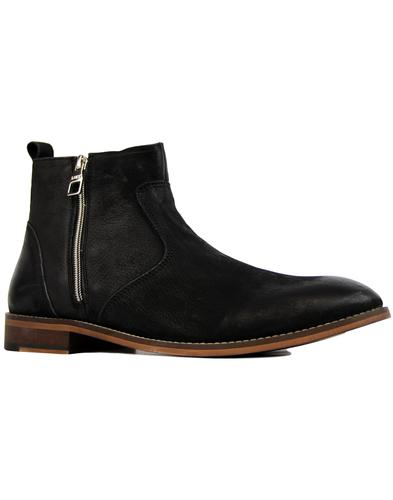 Warburton LUKE 1977 Retro Side Zip Chelsea Boots