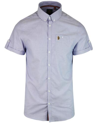 Jimmy Travel LUKE Retro Short Sleeve Oxford Shirt