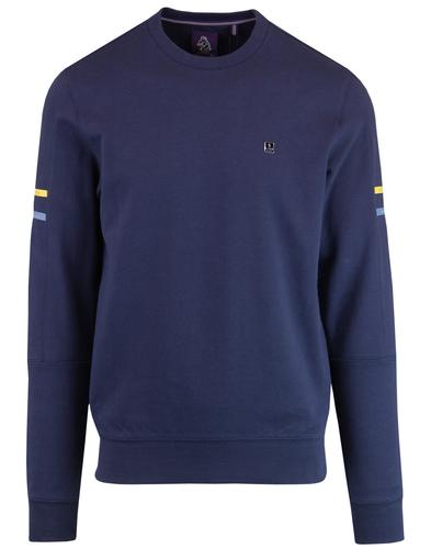 TTS LUKE Retro Technical Tailor Stripe Sweatshirt
