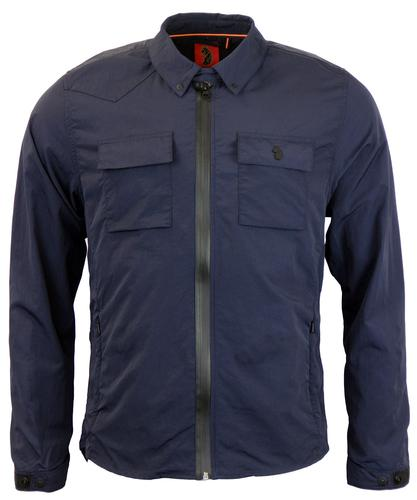 Grafter LUKE 1977 Zip Through Military Overshirt