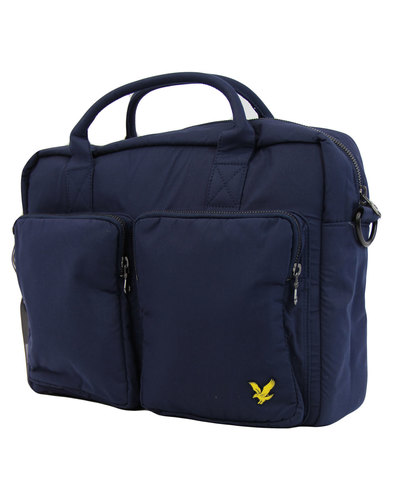 2 Pocket LYLE AND SCOTT Shoulder Bag Navy