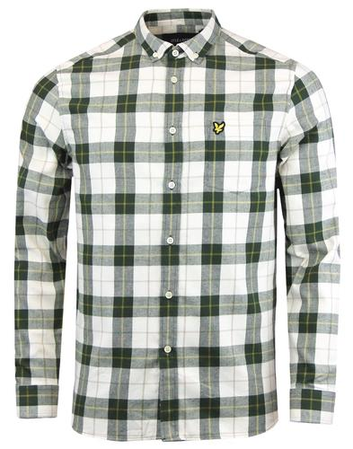 LYLE & SCOTT Men's Retro Mod Check Flannel Shirt