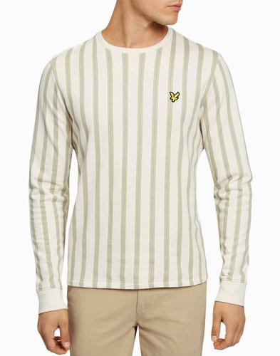 LYLE & SCOTT Retro 70s Deckchair Stripe Sweatshirt
