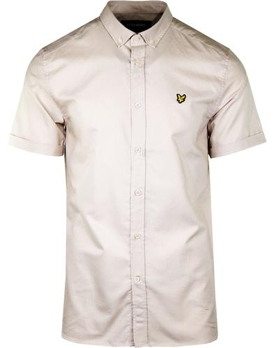 LYLE & SCOTT 60's Mod Button Down SS Oxford Shirt
