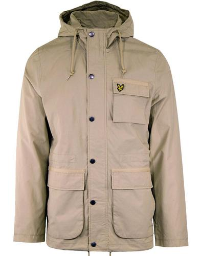 LYLE & SCOTT Retro 1960s Hooded Parka Jacket