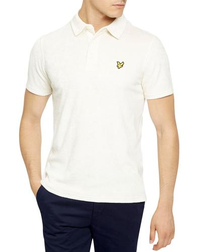 LYLE & SCOTT Retro Terry Towelling Polo Shirt (SW)