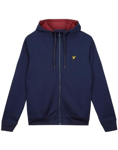 LYLE & SCOTT Retro 80s Tricot Hooded Track Jacket
