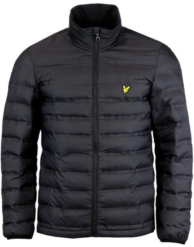 LYLE & SCOTT Retro Wadded Funnel Neck Jacket (TB)