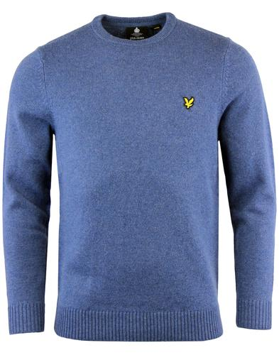 LYLE & SCOTT Mod Lambswool Blend Jumper MIST BLUE
