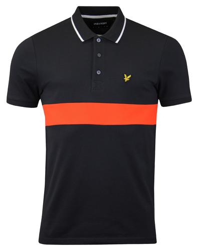 LYLE & SCOTT Mod Colour Block Tipped Pique Polo